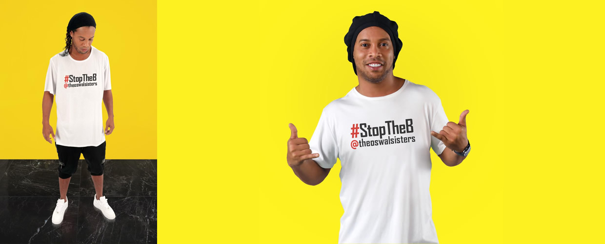 sinmanagement campaign ronaldinho the oswal sisters